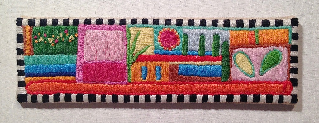 embroidered doodle 1
