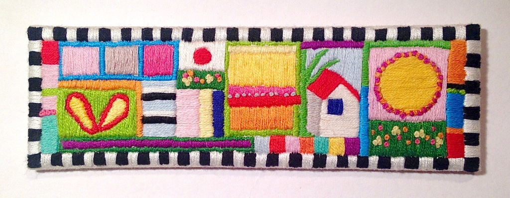 embroidered doodle 3